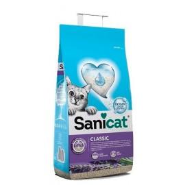 Наполнители для кошек и котов Sanicat 20л SUPER PLUS, впитывающий с АРОМАТАМИ АПЕЛЬСИНА И ЛАВАНДЫ Артикул SCG010