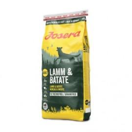 Josera Lamb & Batate (Adult Medium/Maxi 25/16) (Ягненок и батат) гипоаллергенный корм для собак всех пород, 15 кг