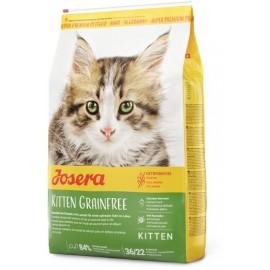 Josera Kitten Grainfree (Kitten 36/22) для котят до 12 месяцев и беременных кормящих кошек, с мясом птицы, 10 кг
