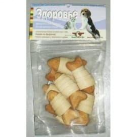 Лакомство для собак Green Qzin ЗДОРОВЬЕ (Галеты с телятиной и курицей) 50гр