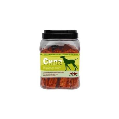 Лакомство для собак Green Qzin СИЛА (Сушеная куриная вырезка туба 750гр