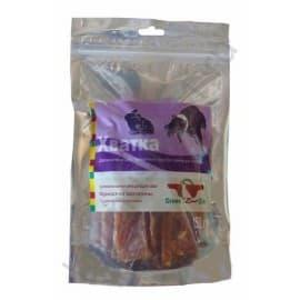 Лакомство для собак Green Qzin ХВАТКА юниор(Мягкое сушеное мясо кролика)(туба)150гр