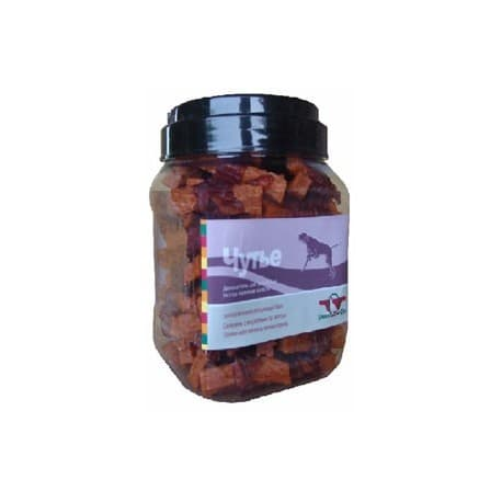 Лакомство для собак Green Qzin ЧУТЬЕ (Сушеное утиное мясо на ломтике моркови туба 750гр