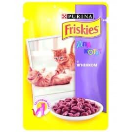 FRISKIES консервы с ягнёнком в подливе для котят (0,1 кг.)