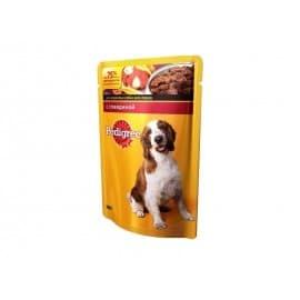Влажный корм для собак Pedigree Говядина,ягненок (100гр.)