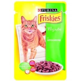FRISKIES консервы с кроликом в подливе для взрослых кошек (0,1 кг.)