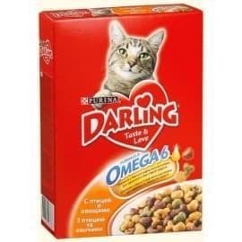 Darling. Корм сухой полнорационный для взрослых кошек с курочкой по-домашнему и овощами (2 кг.)