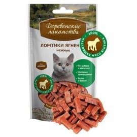 Лакомства для кошек Ломтики ягненка нежные для кошек, 45г