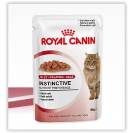 Пресервы ROYAL CANIN ИНСТИНКТИВ в СОУСЕ оч. аппетит. кусочки в соусе для взросл. кошек (0,085 кг.)