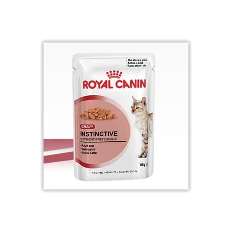 Пресервы ROYAL CANIN ИНСТИНКТИВ в ЖЕЛЕ оч. аппетит. кусочки в желе для взросл. кошек (0,085 кг.)