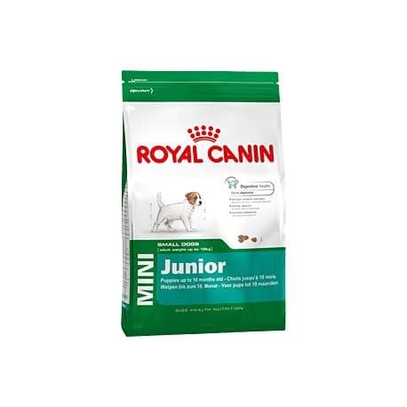 Сухой корм ROYAL CANIN MINI JUNIOR для щенков (2-10 мес) (4 кг.)