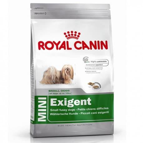 Сухой корм ROYAL CANIN MINI ЭКЗИДЖЕНТ для собак мелких пород привередливых в еде (2 кг.)