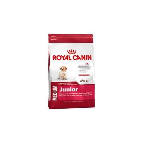 Сухой корм ROYAL CANIN MEDIUM JUNIOR ДЛЯ ЩЕНКОВ (15 кг.)