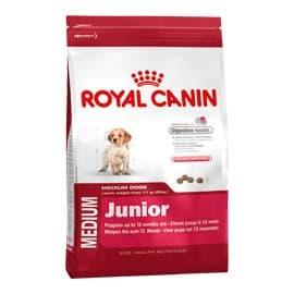 Сухой корм ROYAL CANIN MEDIUM JUNIOR ДЛЯ ЩЕНКОВ (в возрасте 2-15 мес) (4 кг.)