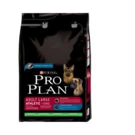 Pro Plan Корм сухой полнорацион. для взрослых собак крупных пород с атл.телослож., с ягнен. и рисом (3 кг.)