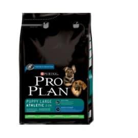 Pro Plan Корм сухой полнорацион. для щенков крупных пород с атлетическим телосложением,с ягнененком и рисом (14 кг.)