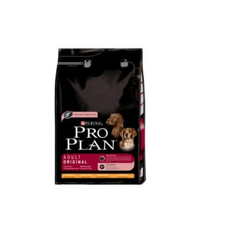 Pro Plan Сухой корм для взрослых собак курица и рис (14+2.5 кг.)