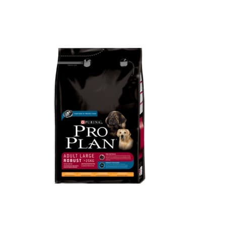 Pro Plan Корм сухой полнорацион. для взрослых собак крупных пород, с курицей и рисом (14 кг.)