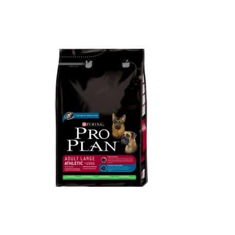 Pro Plan Корм сухой полнорацион. для взрослых собак крупных пород с атл.тел., с ягн.и рисом (14 кг.)