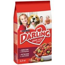 DARLING сухой с мясом и овощами для взрослых собак (2,5 кг.)