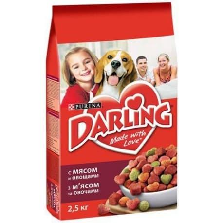 DARLING сухой с мясом и овощами для взрослых собак (3 кг.)