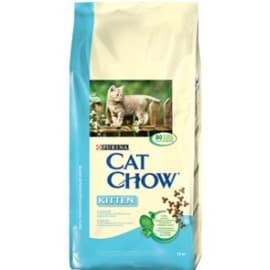 Cat Chow Корм сухой полнорационный для котят с курицей (15 кг.)