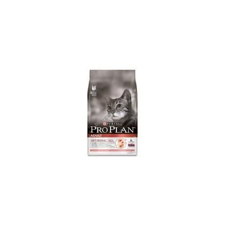 Pro Plan Корм сухой полнорацион. для взрослых кошек с лососем (0,4 кг.)