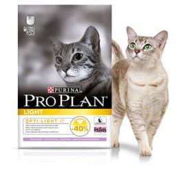 Pro Plan Корм сухой полнорацион. для взрослых кошек с избыточным весом и склонных к полноте с индейкой (0,4 кг.)