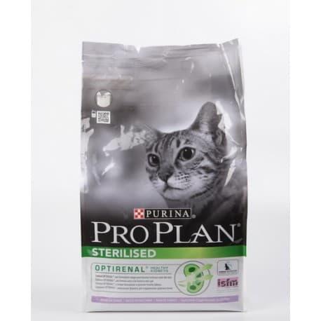 Pro Plan корм сухой для взрослых кошек и кастрированных котов с индейкой+ брошюра (0,4 кг.)