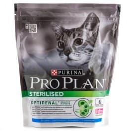 Pro Plan Корм сухой полнорацион. для взрослых стерилизованных кошек и кастрированных котов с кроликом (0,4 кг.)