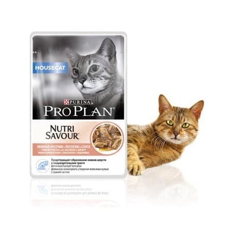 Pro Plan Корм сухой полнорацион. для взрослых кошек живущих дома с курицей (0,4 кг.)