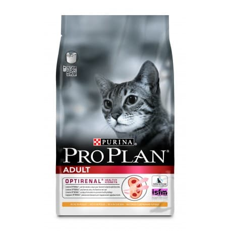 Pro Plan корм сухой с курицей для взрослых кошек (1,5 кг.)