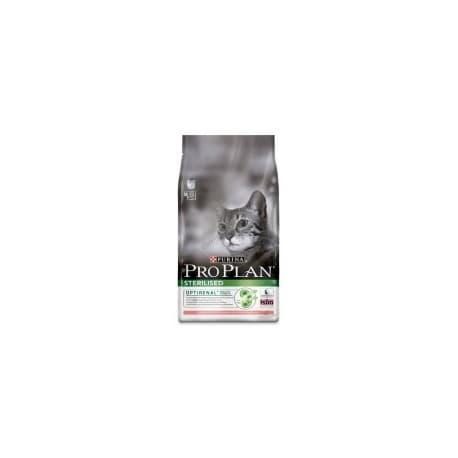 Pro Plan корм сухой с лососем для кастрированных котов и стерилизованных кошек (1,5 кг.)