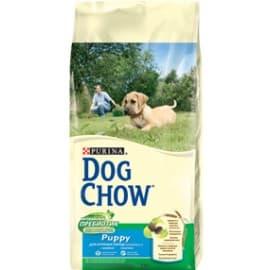 Dog Chow Корм сухой полнорационный для щенков крупных пород, с индейкой (2,5 кг.)