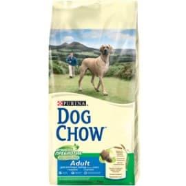 Dog Chow Корм сухой полнорационный, для взрослых собак крупных пород, с индейкой (14 кг.)