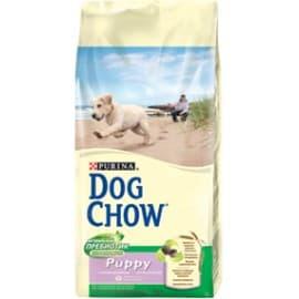Dog Chow Корм сухой полнорационный для щенков с ягненком (14 кг.)