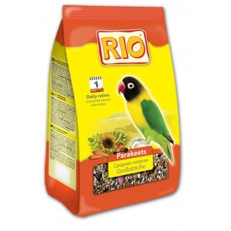Зерновые корма для птиц RIO 1кг для средних попугаев, рацион Артикул BF008