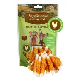 Лакомства для собак мини-пород Палочки куриные для мини:пород, 55г