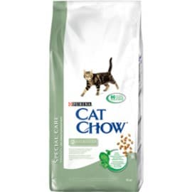Cat Chow Корм сухой полнорационный для взрослых стерилизованных кошек и кастрированных котов (0,4 кг.)