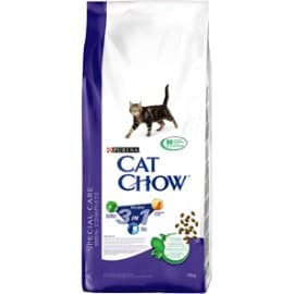 Cat Chow Корм сухой полнорационный для взрослых кошек 3 в 1 (0,4 кг.)