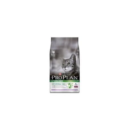 Pro Plan корм сухой полнорацион. для взрослых стерилизованных кошек и кастрированных котов с индейкой (1,5 кг.)