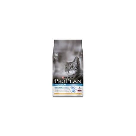 Pro Plan корм сухой с курицей для взрослых кошек живущих дома (7,5 кг.)