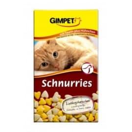 Витамины GIMPET, 650шт. для кошек (витаминизированные сердечки с таурином и курицей с ТГОС)