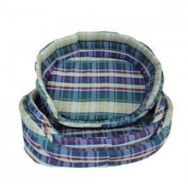 Лежак для собак и для кошек ГЮ-ВАС №7 размер 80 х 67 см. бязь