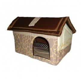 Будка с боковым входом для кошек и собак ГЮ-ВАС №3 размер 46 х 44 х 38 см. бязь