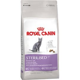 Сухой корм ROYAL CANIN STERILISED для домашних кошек после стерилизации, кастрации, 1-10 лет (0,4 кг.)