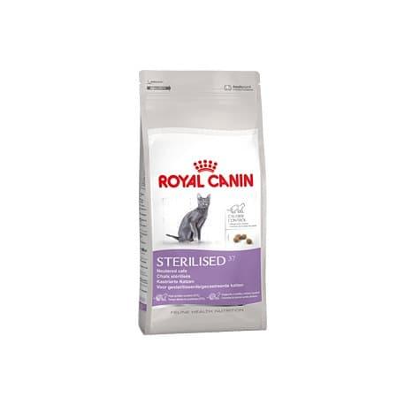 Сухой корм ROYAL CANIN STERILISED для домашних кошек после стерилизации, кастрации, 1-10 лет (0,4 кг.)