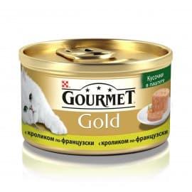 GOURMET GOLD консервы с кроликом по-французски (0,085 кг.)