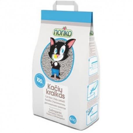 NORIKO, 10 kg комкующийся наполнитель для кошачьего туалета без запаха (бентонит). Чехия