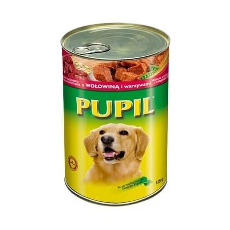Корм для собак Pupil влажный с домашней птицей 1.25 кг